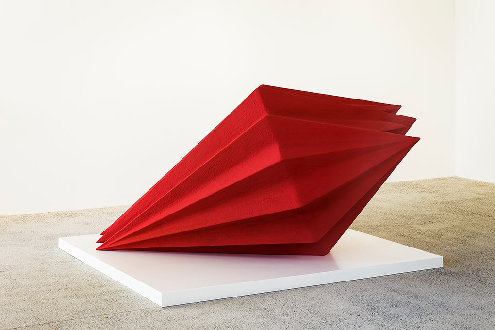 Anish Kapoor at Mulier Mulier Gallery, 2018